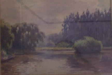 """""""Johannesburg Country Club"""", MABEL WITHERS , Transvaal, Gauteng, South Africa - Watercolours"""
