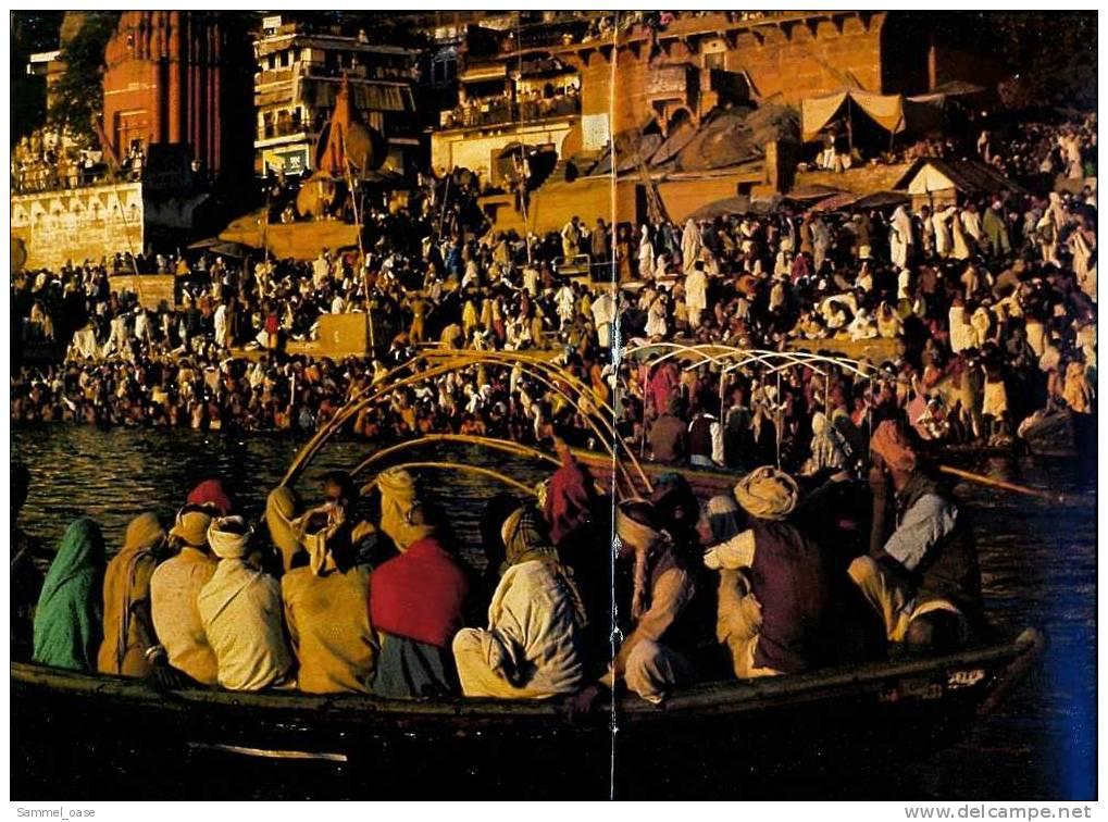 Merian Illustrierte  -   Indiens Norden  -  Auf Den Ghats Von Benares  -  500 Jahre Sikhs  Uvm. -  Von 1982 - Reise & Fun