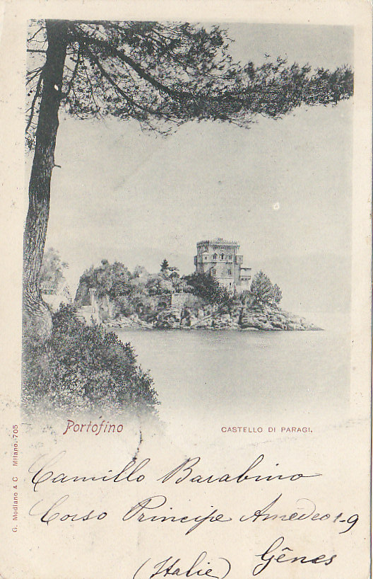 Italie - Portofino -  Castello Di Paragi - Philatélie Pionnière - Genova (Genoa)