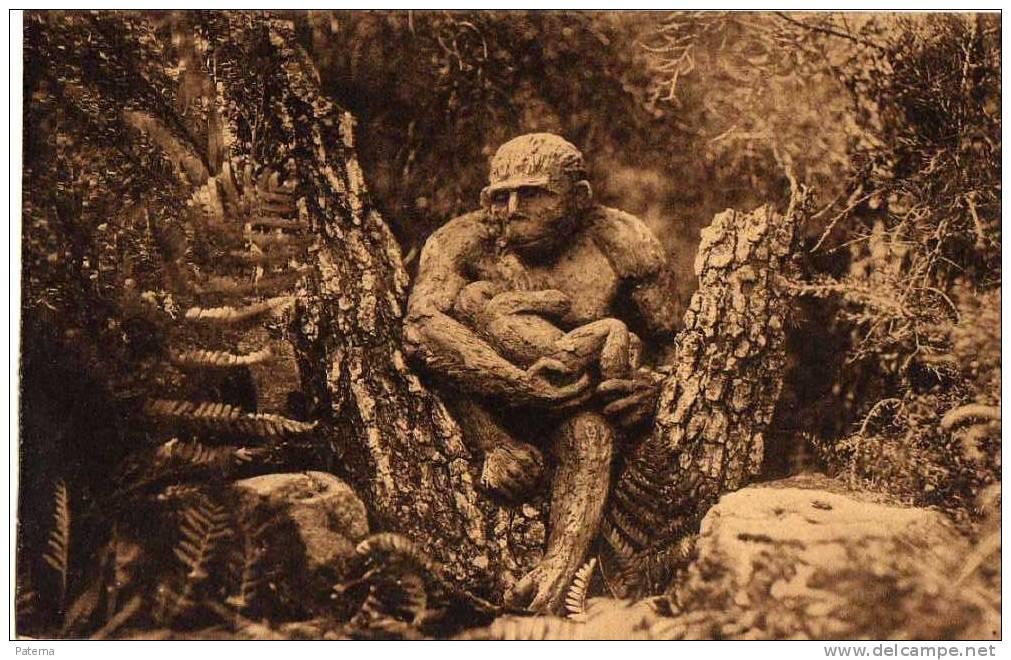 Postal, Hombre Prehistórico, PRÉCURSEURS DE L´HOMME, Post Card, Postkarte - Historia