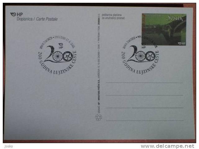200. GODINA LUJZINSKE CESTE ( Croatia ) 200 YEARS OF THE LOUISIANA ROAD - 200 ANS DE LA ROUTE LOUISIANE - Croatia