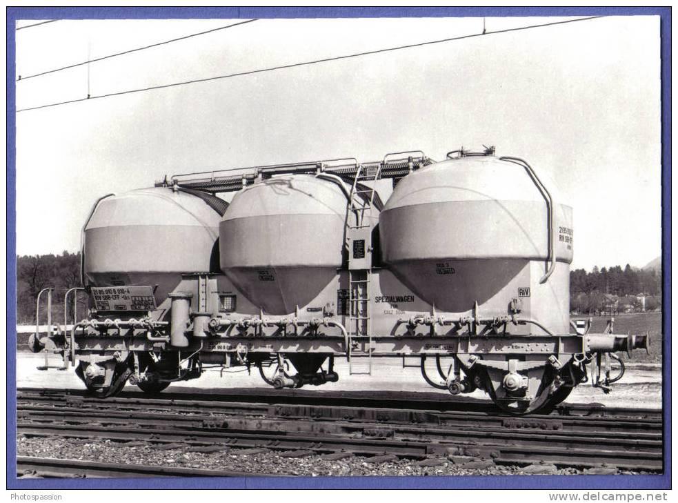 SBB-CFF 3-Silowagen Für Staugüter / Wagon à 3 Silos Pour Marchandises Pulvérulentes - Train - Bahn - Trenes