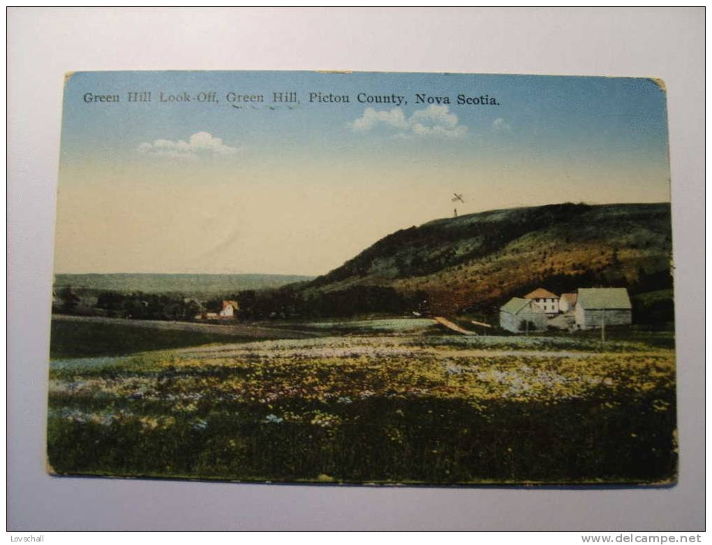 Green Hill Look-off. Pictou County. (19-3-1935) - Nouvelle-Écosse
