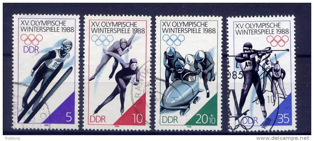 DDR Nr.3140/3   O Used   (12598)  (Jahr:1988) - DDR