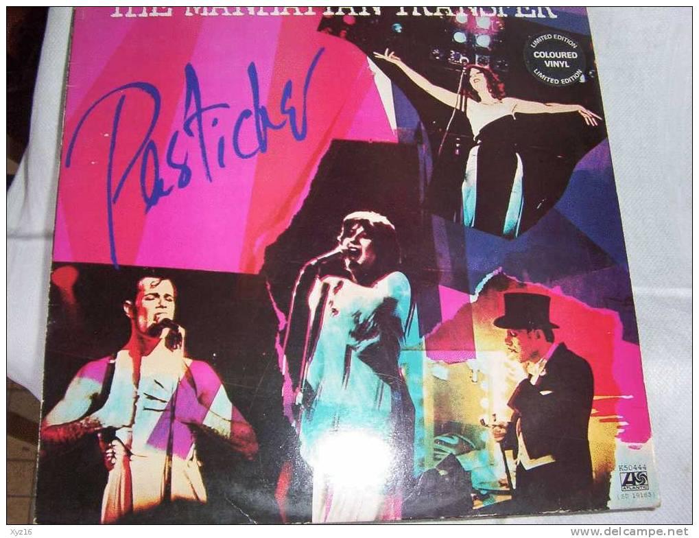 THE MANAHTTAN TRANSFER  PASTICHE 1978 Limited Edition COLOURED VINYL - Limitierte Auflagen