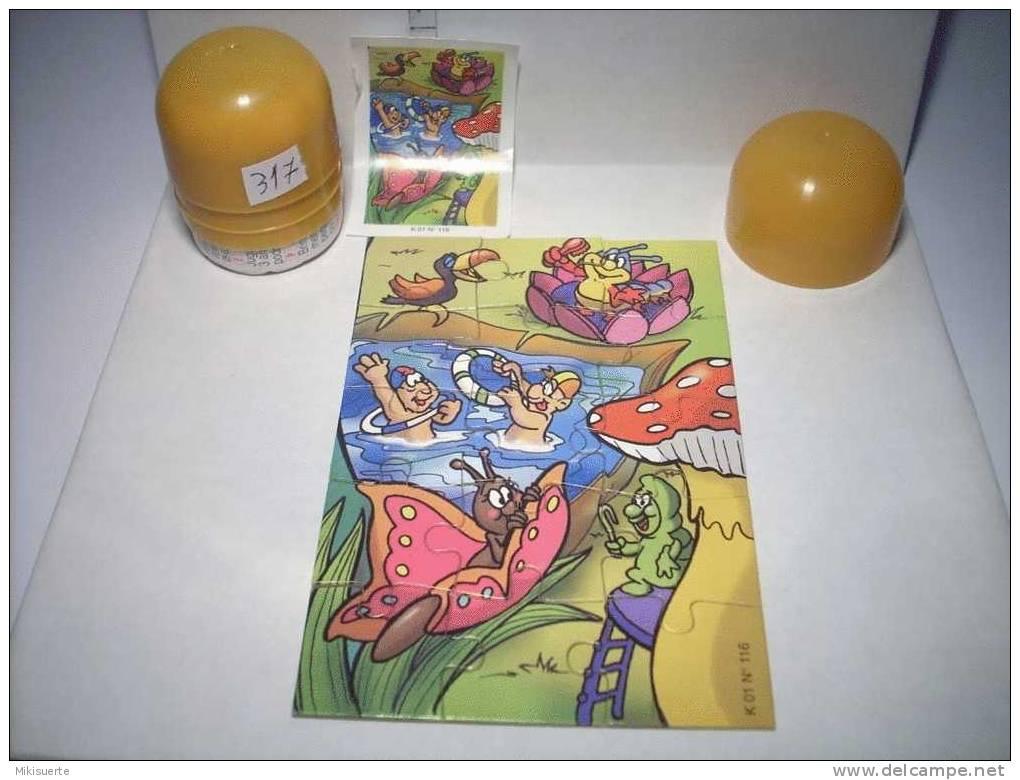 K317B PUZZLE KINDER K 01 N. 116 - Puzzles