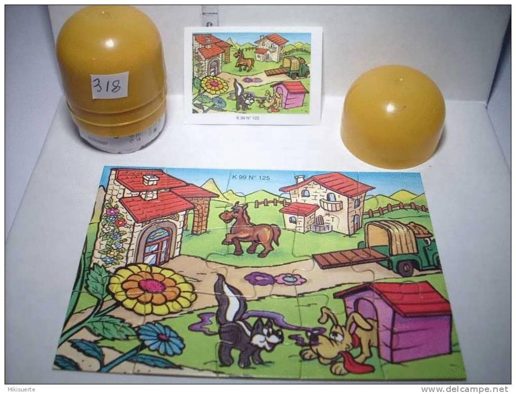 K318B PUZZLE KINDER K 99 N. 125 - Puzzles