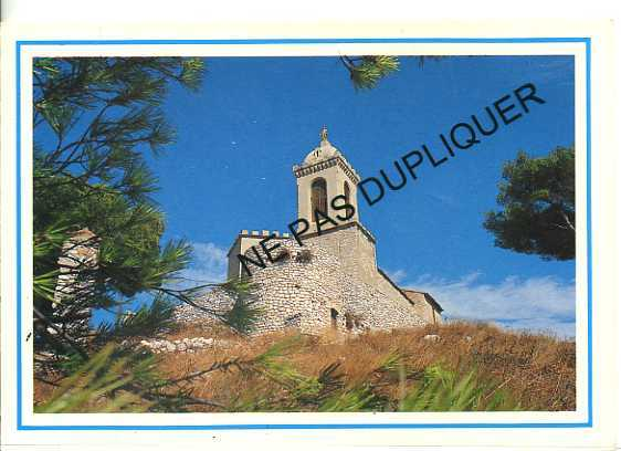 CP13549 - ALLAUCH - Chapelle Notre Dame Du Château - Allauch