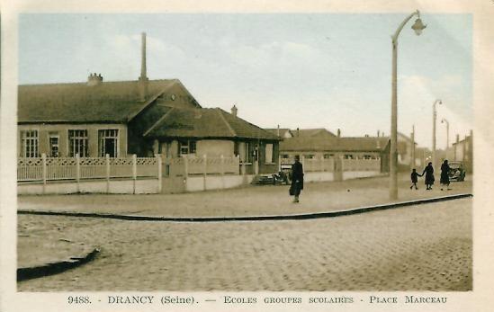93 DRANCY Ecoles Groupes Scolaires Place Marceau - Drancy