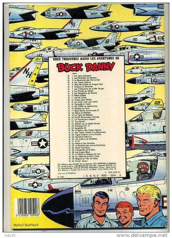 - BUCK DANNY N°4  . TIGRES VOLANTS  . DUPUIS1976 - Buck Danny