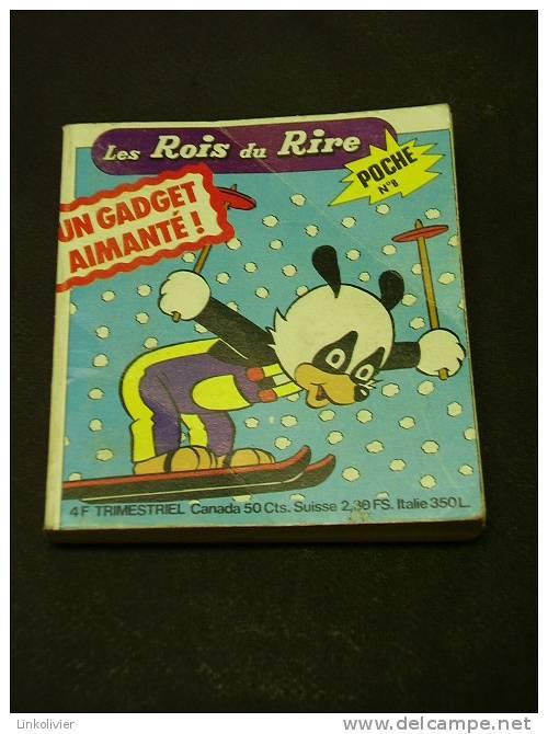 LES ROIS DU RIRE Poche N° 8 - Avril 1978 - Editions De VAILLANT - Pif - Autres