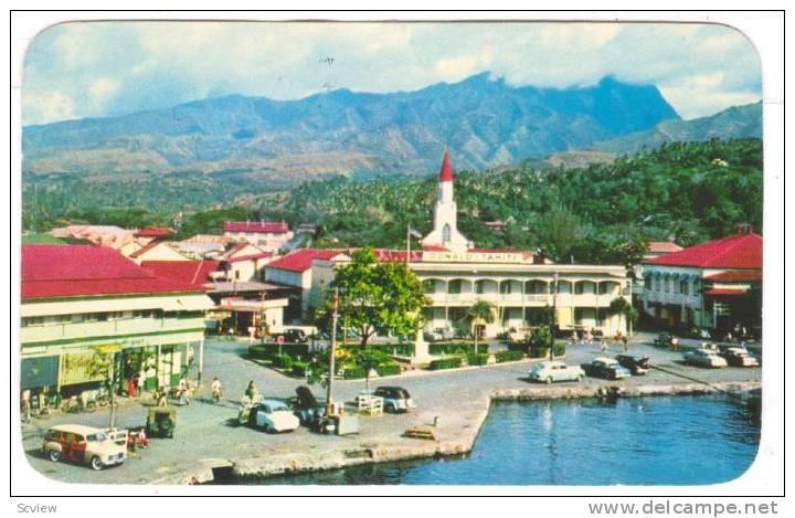 Papeete , Tahiti , PU-1960