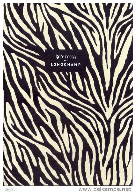 Catalogue Longchamp Paris Collection Kate Moss 2010 - Catalogues