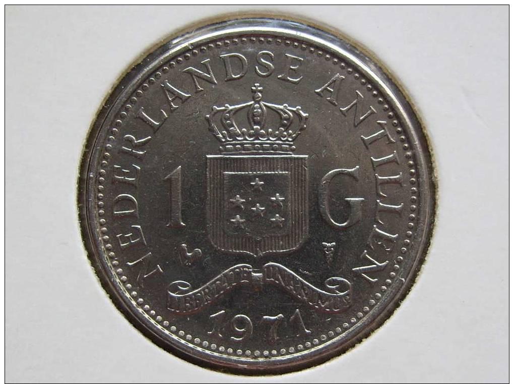 Netherlands Antilles /231. /Km12 /Gulden 1971 - Netherland Antilles
