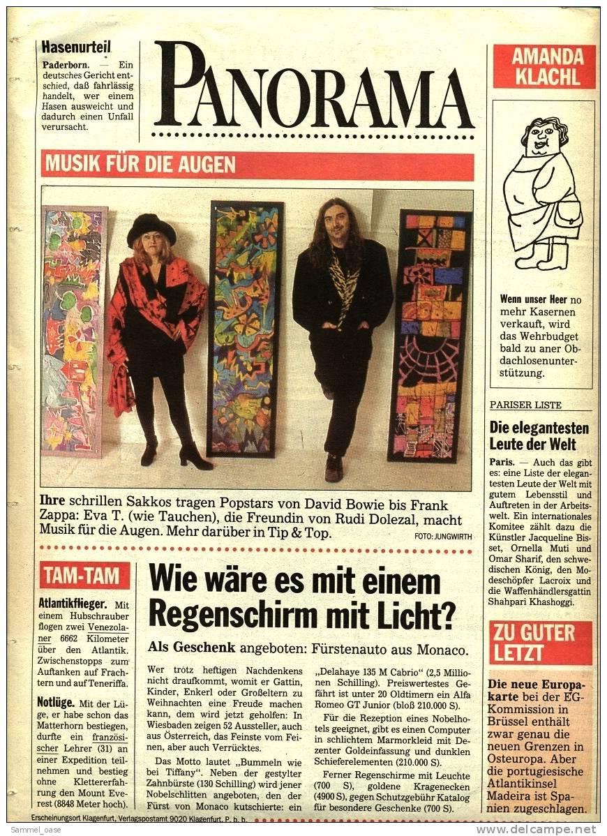 KLEINE  ZEITUNG Kärnten Klagenfurt  18.12. 1992  -  TV, Fussball , Kultur , Politik Und Interessante Berichte - Ohne Zuordnung