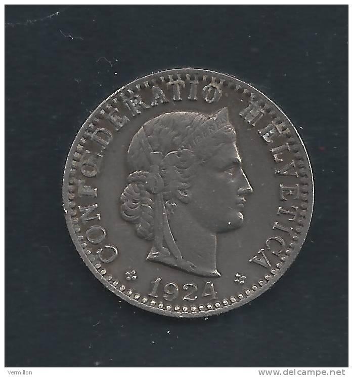 CH--011. Piece De 0.20 Centimes De 1924, Voir Scan Pour Detail , PEU COURANT !! - Suiza