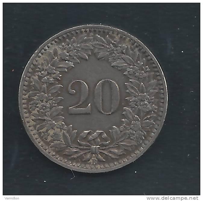 CH--011. Piece De 0.20 Centimes De 1924, Voir IMAGE Pour Detail , PEU COURANT !! - Suiza