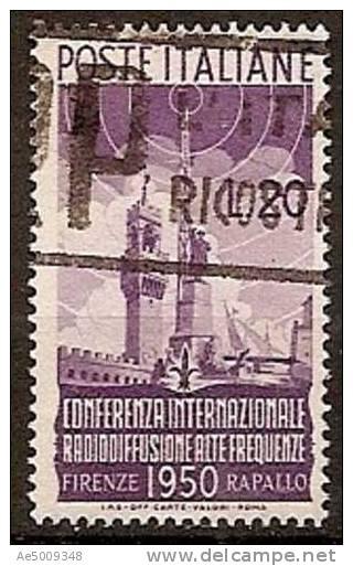 ITALIE -- N°561    Obliteré -- 1950 - 1946-60: Gebraucht