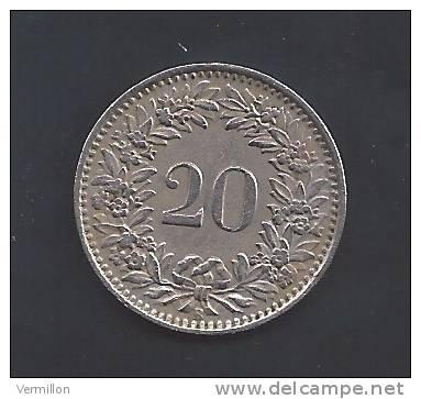 CH  012. Piece De 0.20 Centimes De 1943, Voir Scan Pour Detail , PEU COURANT !! - Suiza