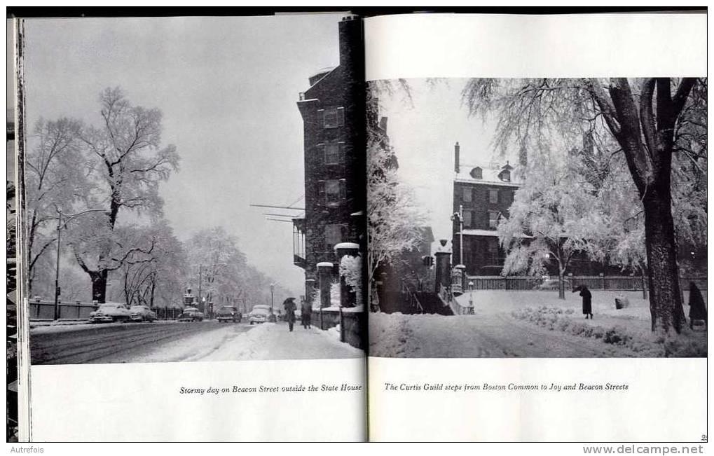 BOSTON PORTRAIT OF A CITY  - PHOTOGRAPHS BY KATHARINE KNOWLES 1964  -  112 PP  -  TRES BON ETAT - Architecture