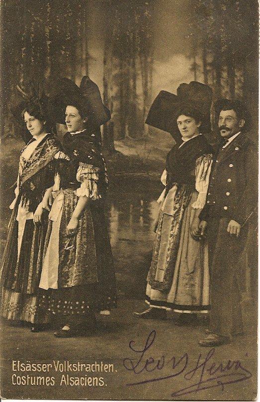 L100.52 - Costumes Alsaciens - Kunverlag Hartman. - Costumes