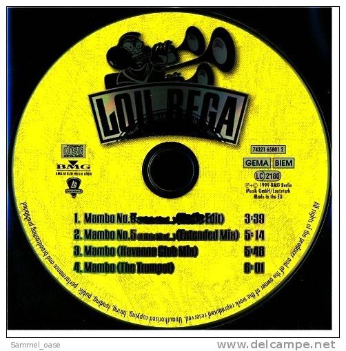 Musik Maxi CD  -  Lou Bega - Mambo No 5  ( A Little Bit Of  )  -  Neuwertig - Disco, Pop