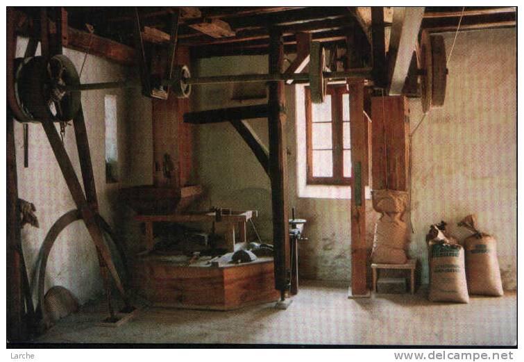"""Dép. 49. La Pommeraye. Le Moulin De Bêne. """"Le Plancher Des Meules"""". Photo Jacques Bimier Tirage 2000 Ex. - Non Classés"""