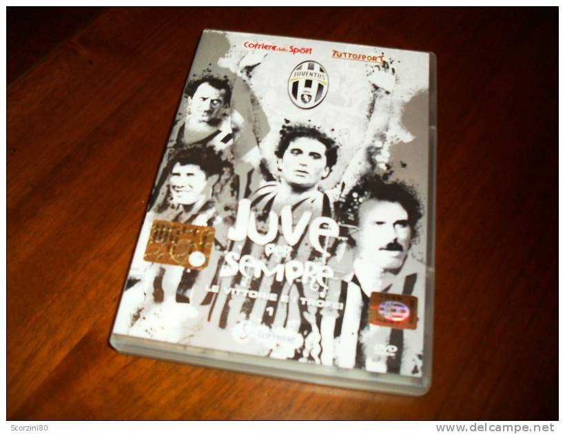 DVD-JUVE PER SEMPRE N° 1 Le Vittorie E I Trofei - Sport