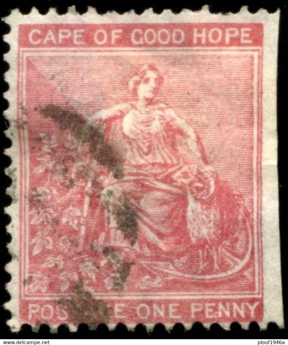 Pays :  86 (Cap De Bonne Espérance : Colonie Britannique)  Yvert Et Tellier N° :   20 B (o) - Cape Of Good Hope (1853-1904)