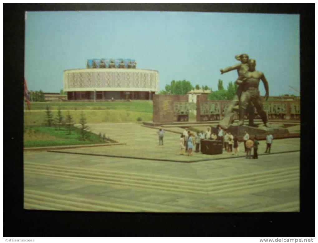 5524 UZBEKISTAN TASHKENT MONUMENT FRIENDSHIP OF NATIONS POSTCARD AÑOS 60/70 - TENGO MAS POSTALES - Uzbekistán