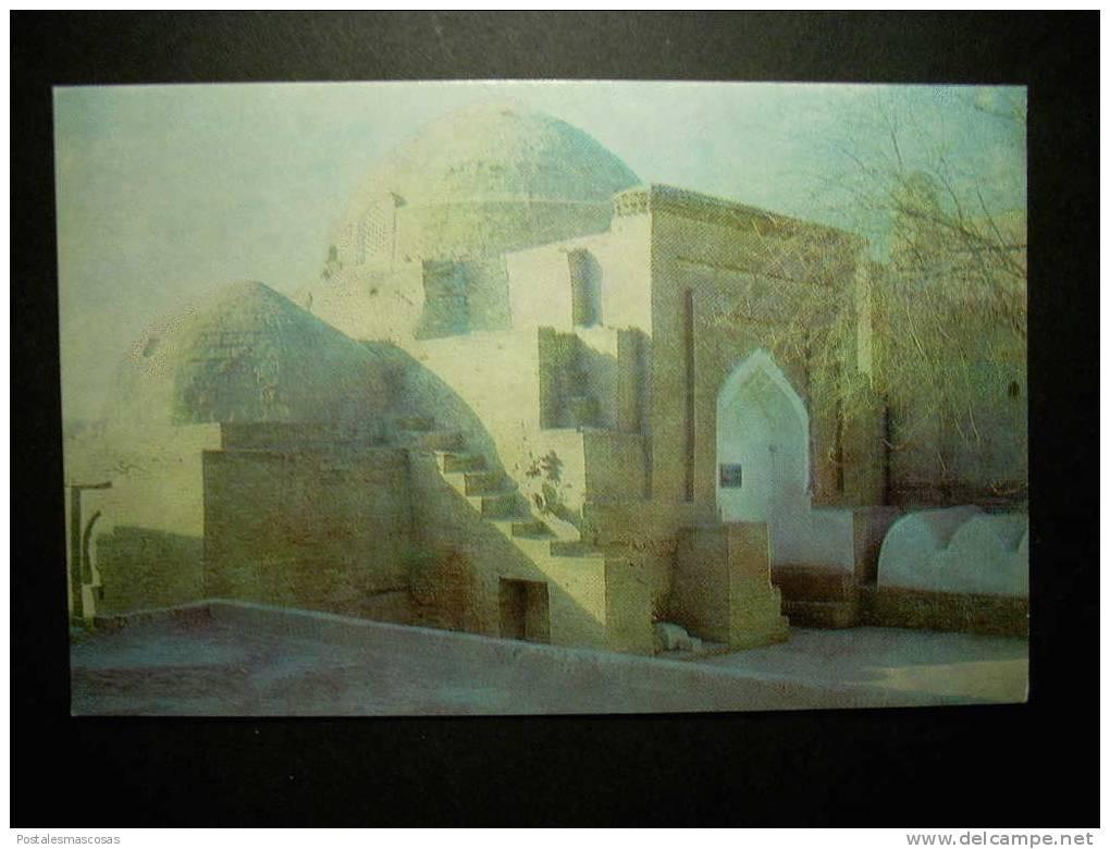 5529 UZBEKISTAN KHIVA CHIWA SEID ALLADUDDIN MAUSOLEUM POSTCARD AÑOS 60/70 - TENGO MAS POSTALES - Uzbekistán