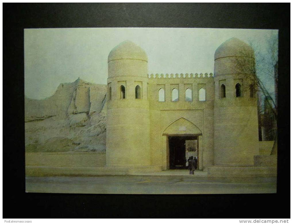 5532 UZBEKISTAN KHIVA CHIWA ICHAN - KALA ITCHAN - KALA ITSCHAN KALA WESTERN GATES POSTCARD AÑOS 60/70 TENGO MAS POSTALES - Uzbekistán
