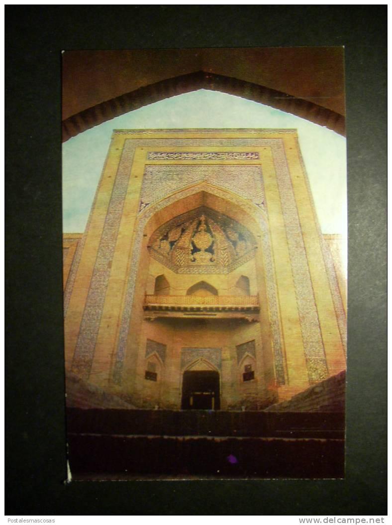 5543 UZBEKISTAN KHIVA CHIWA MUHAMMAD AMIN - KHANA MADRASAH MEDERSA MOUKHAMMAD AMINE KHANA AÑOS 60/70 TENGO MAS POSTALES - Uzbekistán