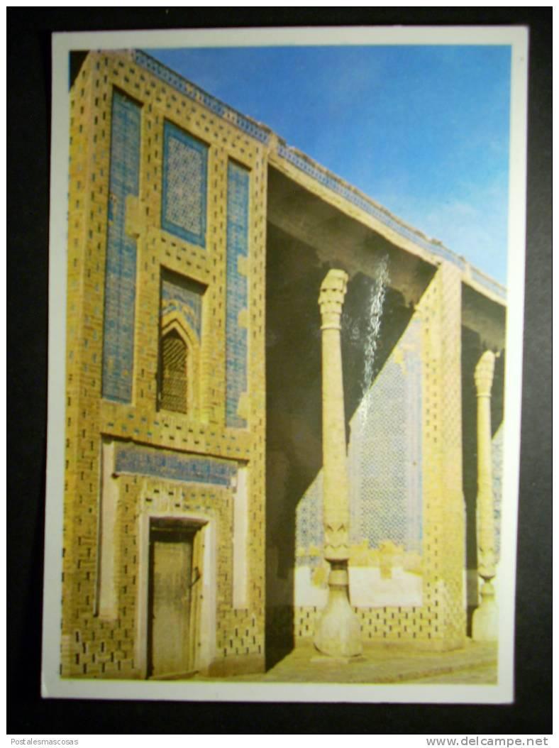 5545 UZBEKISTAN KHIVA CHIWA THE TASH - KHAULI PALACE PALACIO TASH - JAULI AIVANES DEL HAREN AÑOS 70 - TENGO MAS POSTALES - Uzbekistán