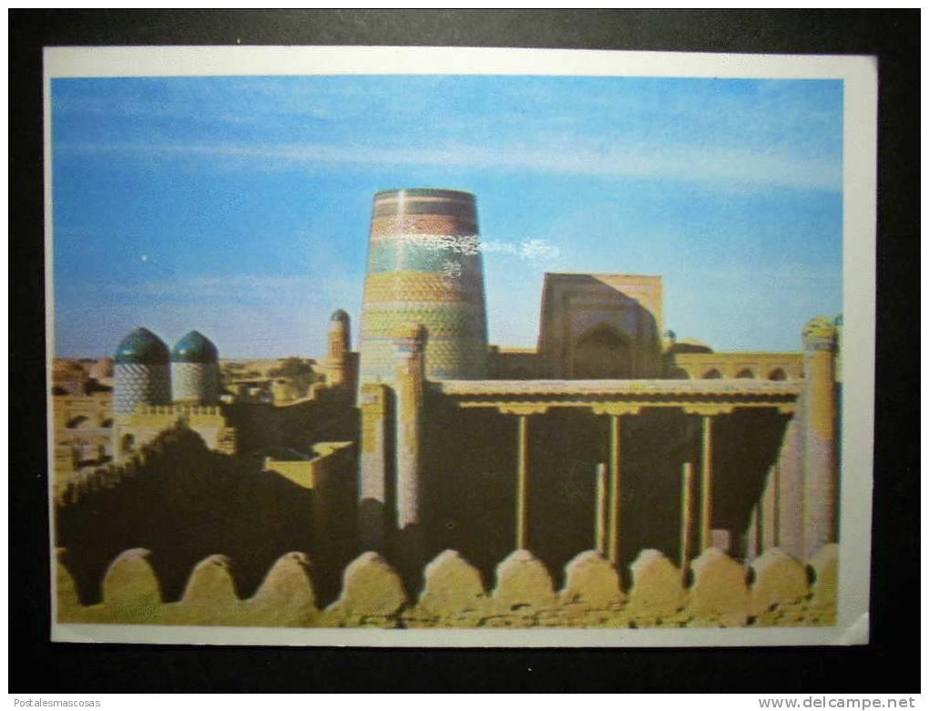 5554 UZBEKISTAN KHIVA CHIWA KUNYA - ARK KUNJA - ARK KOUNIA - ARK KUNYA - ARC POSTCARD AÑOS 70 - TENGO MAS POSTALES - Uzbekistán