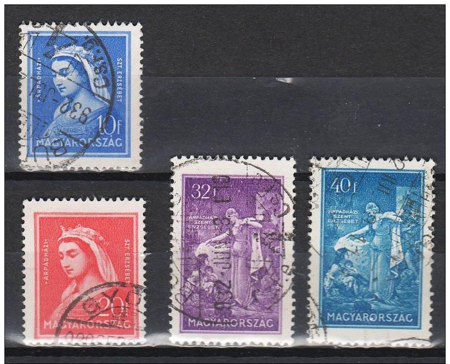 Hungary 1932. St. Elisabeth Wonderful Set ! Used - Hungary