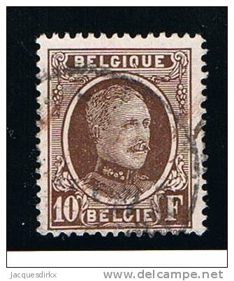 Belgie     OBP   210a              Gebruikt     Oblitere      Gebraucht     Cancelled - Used Stamps