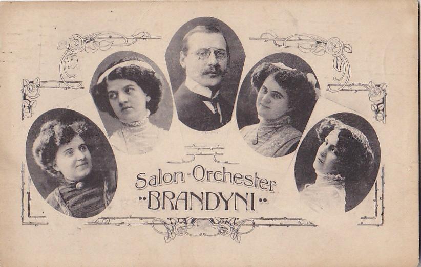 Pologne - Allemagne -  Salon Orchester Brandyni - Musique Musiciennes - Oblitération Postale Stettin - Pologne