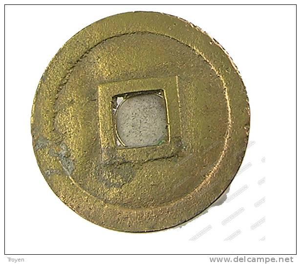 Annam-Vietnam - Cash - Minch Mang - 1820-1841 - Cuivre-Bronze - TB+ - Viêt-Nam