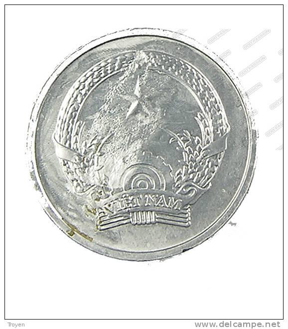 Vietnam - 1 Dong -  1976 TB+ -   Alu - Viêt-Nam