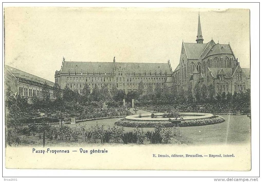 Belgique.Hainaut .Autres & Non Classés. Passy-Froyennes.  Vue Generale - België
