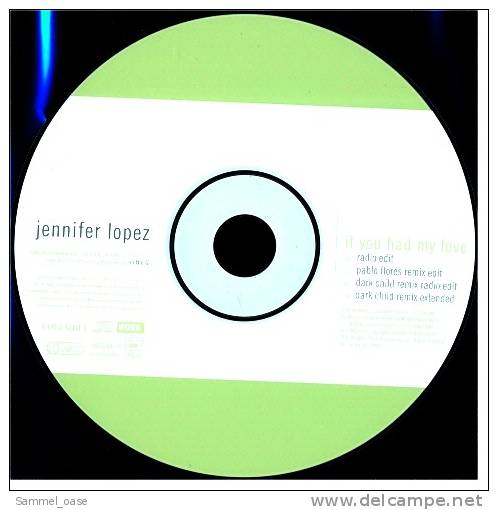 Musik CD  Maxi  -  JENNIFER LOPEZ   -  If You Had My Love  ,  Neuwertig - Disco, Pop