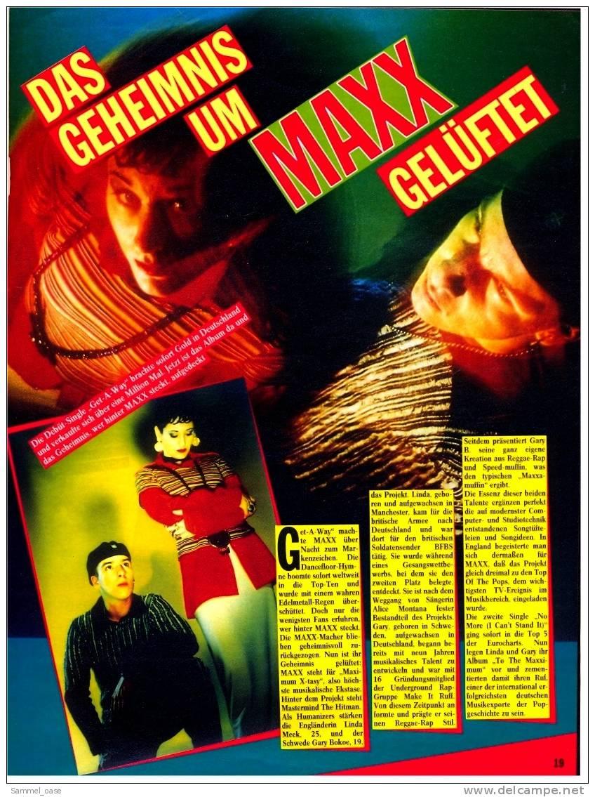 Altes Musikmagazin Musicnews  -  SEAL Im Interview  -  Die Rolling Stones  -  Von 1994 - Varia