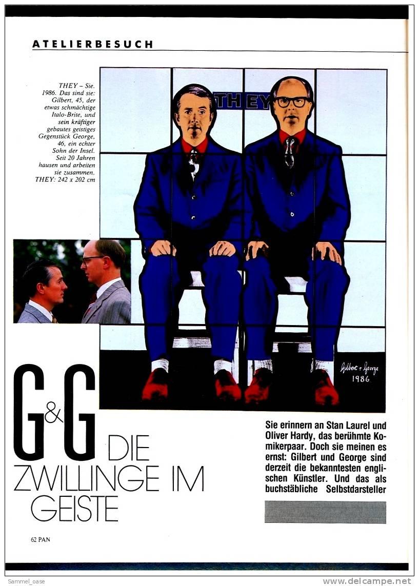 PAN Zeitschrift  -  Kunst Kultur 1988  ,  Michelangelo : Heisse Liebe Zum Kalten Stein - Ohne Zuordnung