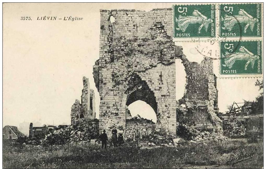 62- Liévin L'Eglise N 3575 - Lievin