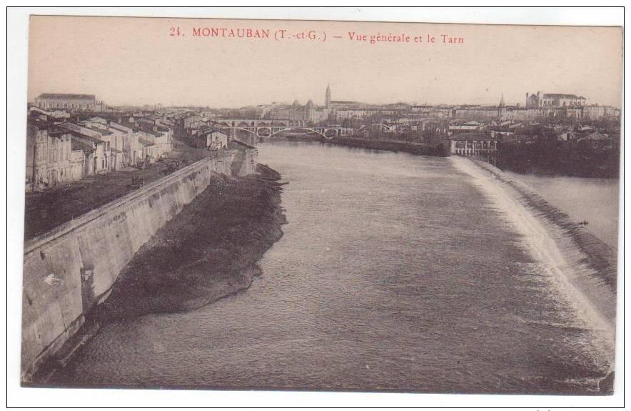 Montauban - Vue Générale Et Le Tarn - Montauban
