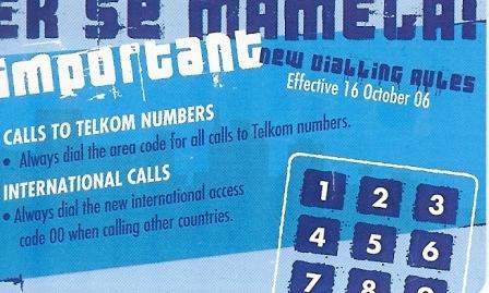 """SOUTH AFRICA Used Phonecard/ Gebruiklte Telefoonkaart """"EK SE MAMELA ! (BLUE)"""" - South Africa"""