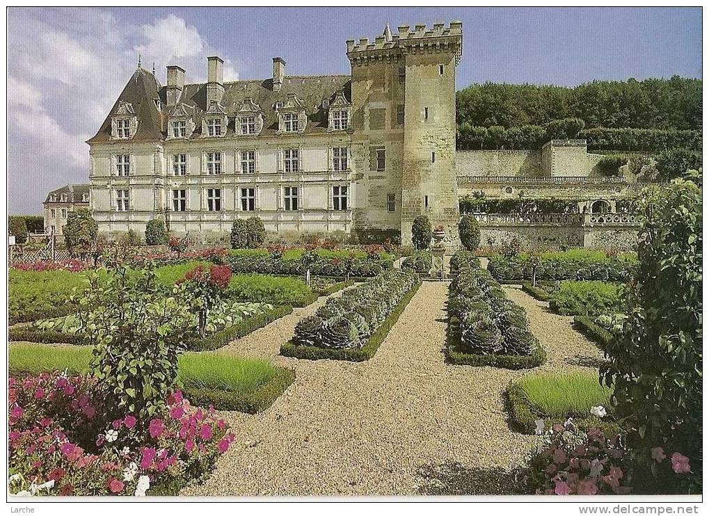 Dép. 37 - VILLANDRY - Le Château De Villandry - Ed. GREFF - Non Classés