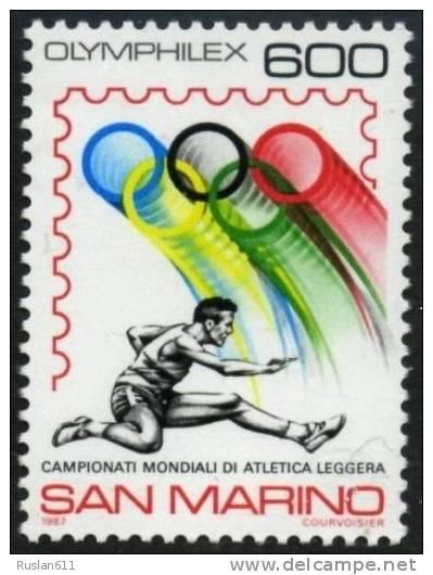 Olympic Games 1988 San Marino #1374 Sport MNH ** - Summer 1988: Seoul