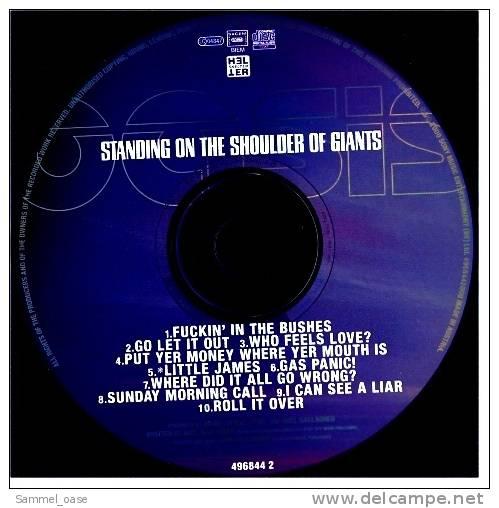 Musik CD Album  -  Oasis  -  Standing On The Shoulder Of Giants  -  Neuwertig - Rock